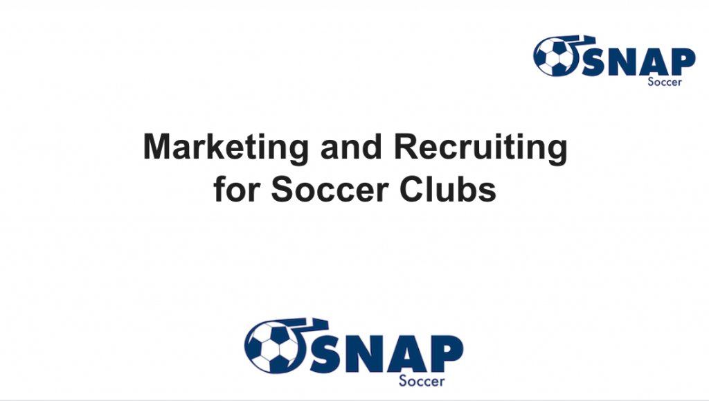 Soccer Club Marketing
