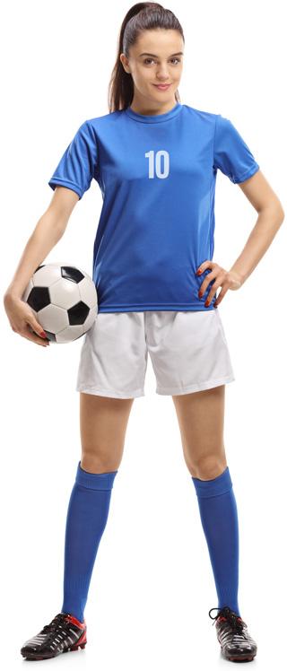 Girl Soccer Player