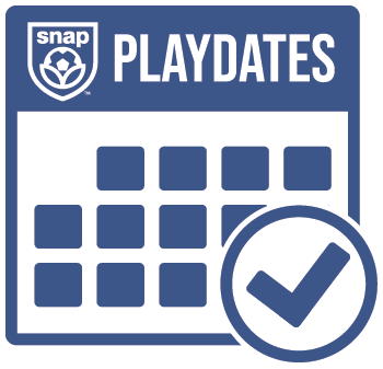 Snap Soccer Playdates logo