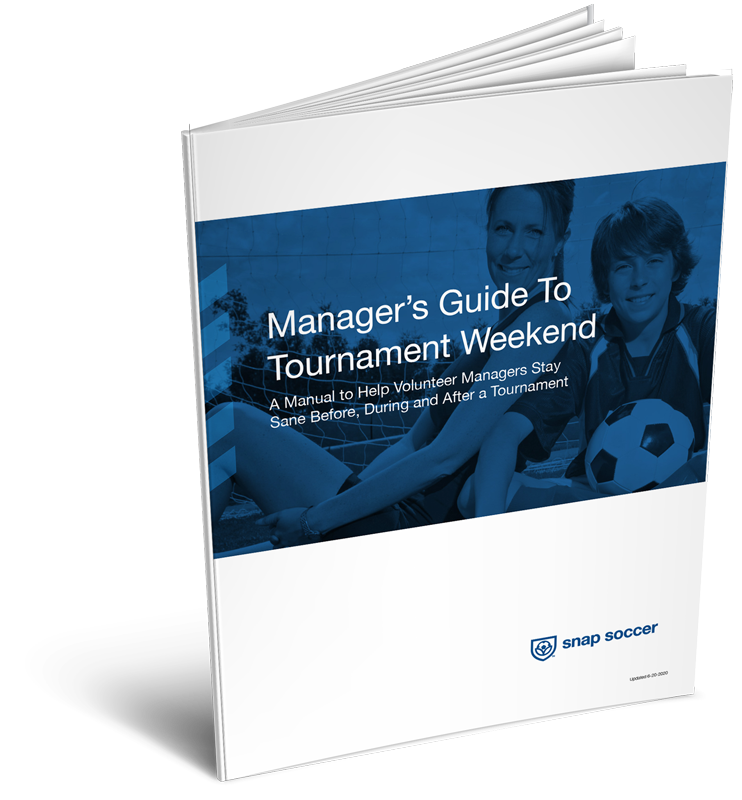 Manager's Guide to Tournament Weekend booklet cover