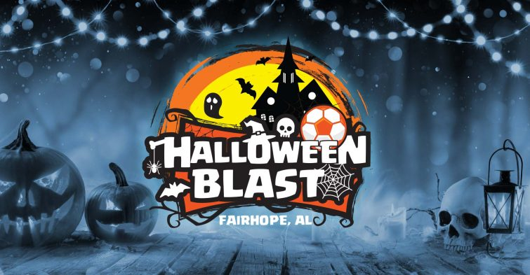 Halloween Blast Soccer Tournament logo