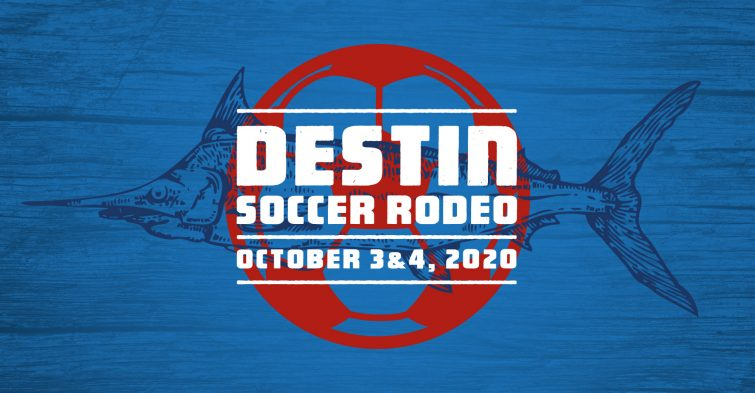 Destin Soccer Rodeo logo