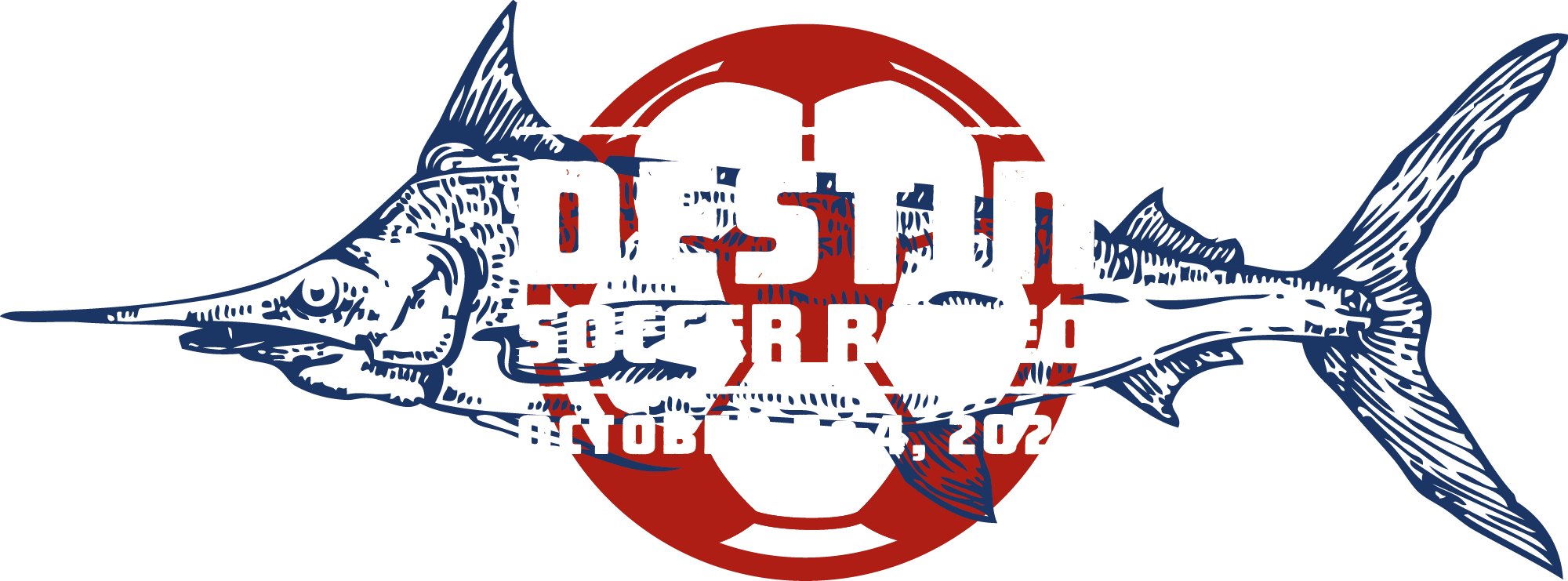 Destin Soccer Rodeo logo