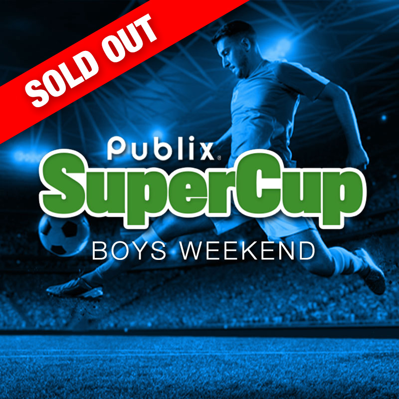 Sold Out - Publix SuperCup logo - boys