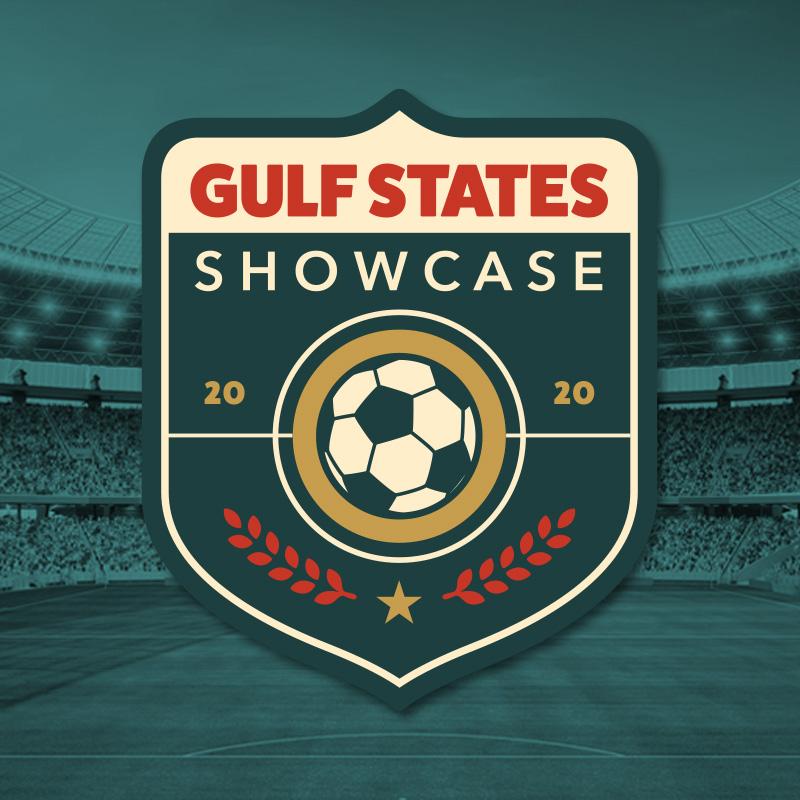 Gulf States Showcase soccer tournament logo