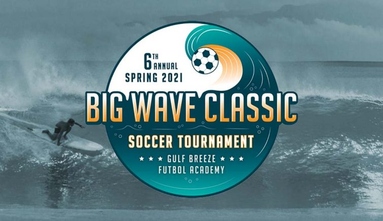 Big Wave Classic soccer tournament logo