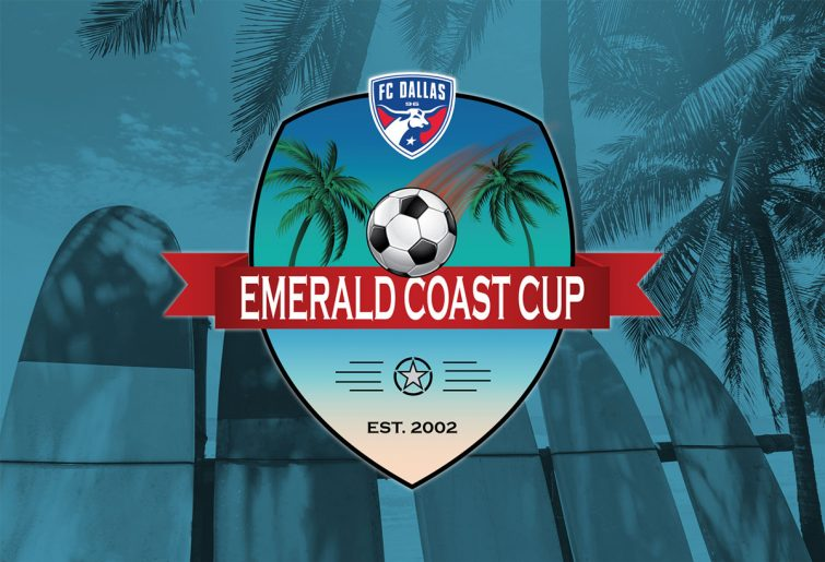 Emerald Coast Cup soccer tournament logo