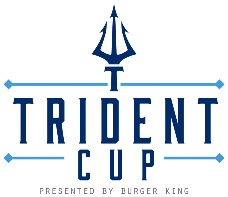 Trident Cup soccer tournament logo