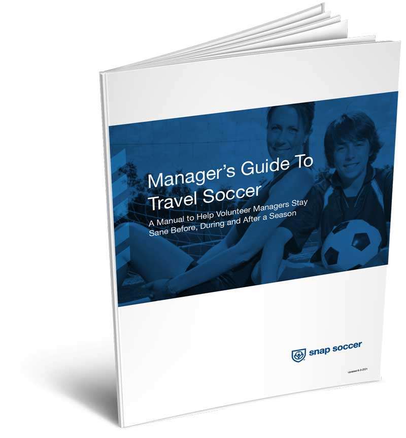 Volunteer Manager's Guide to Youth Travel Soccer Booklet
