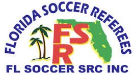 Florida Soccer Referees logo