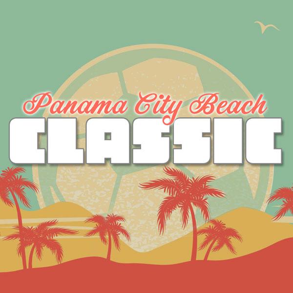 Panama City Beach Classic soccer tournament logo