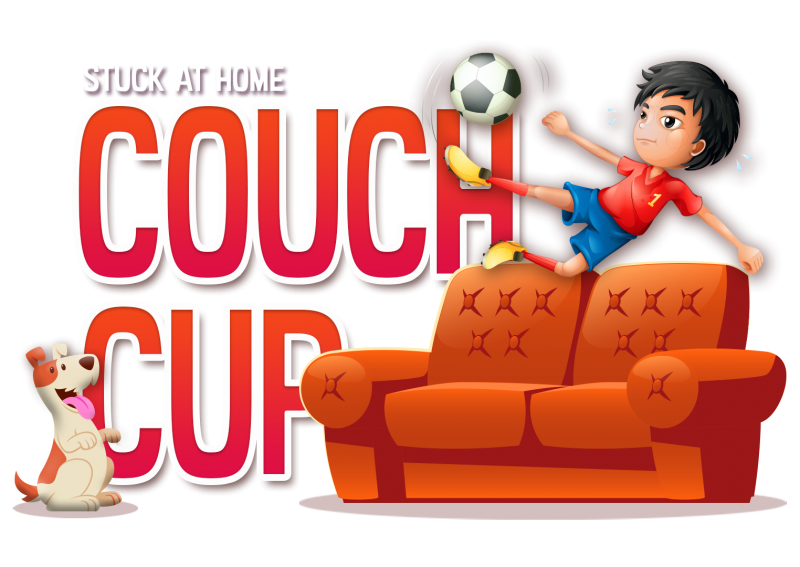 Couch Cup Illustration